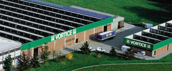 Завод Vortice в Италии